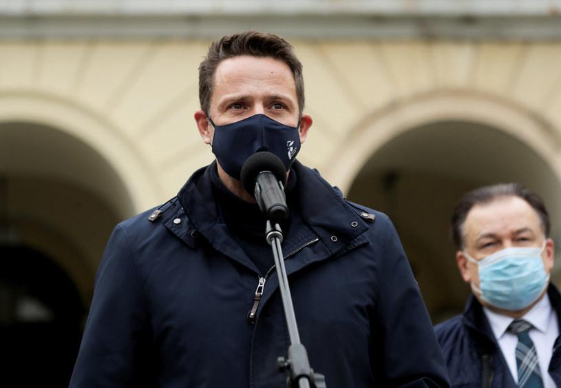 Prezydent Warszawy Rafał Trzaskowski zażądał wyjaśnień od MSWiA w sprawie brutalności policji podczas środowej demonstracji (18 listopada), zdjęcie ilustracyjne /Piotr Molecki/East News /East News