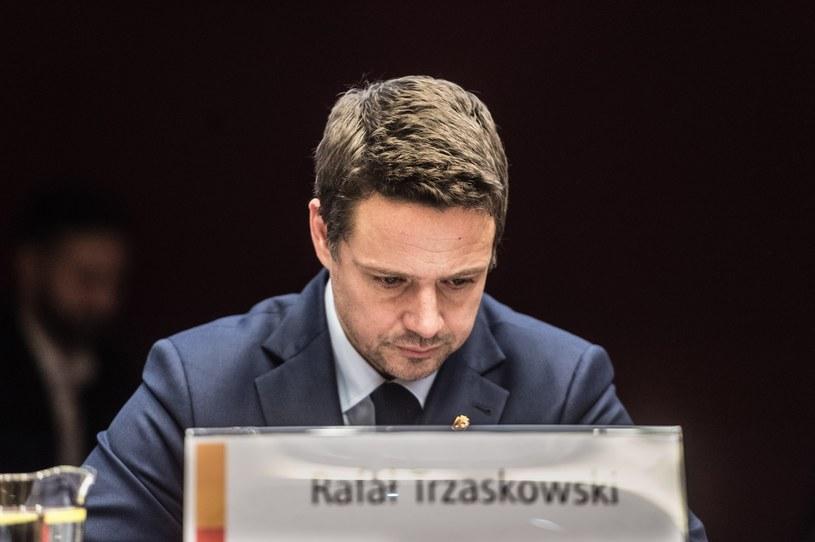 Prezydent Warszawy Rafał Trzaskowski /Jacek Dominski/REPORTER /Reporter