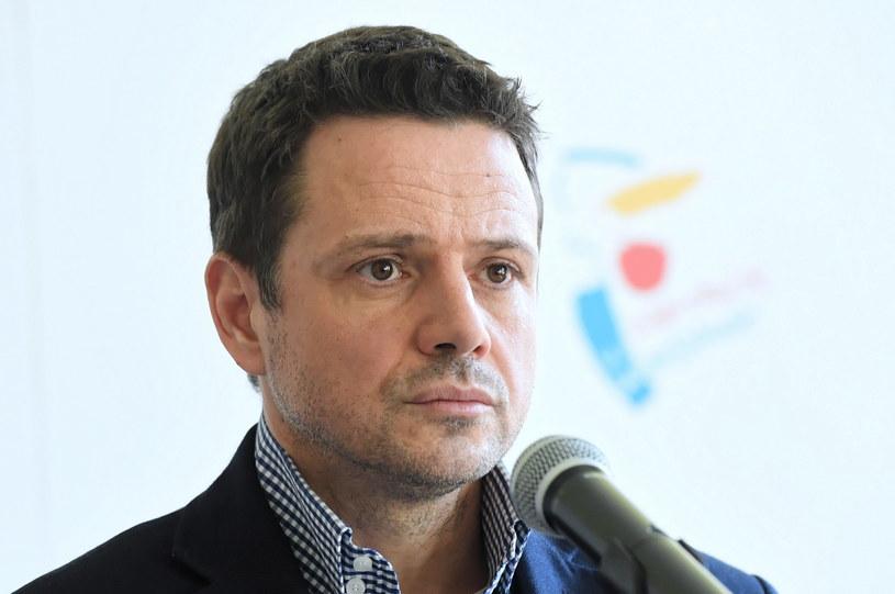 Prezydent Warszawy Rafał Trzaskowski / Radek Pietruszka   /PAP