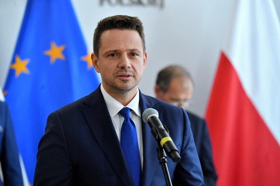 Prezydent Warszawy Rafał Trzaskowski /Piotr Nowak /PAP