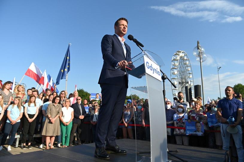 Prezydent Warszawy Rafał Trzaskowski /Jan Dzban /PAP