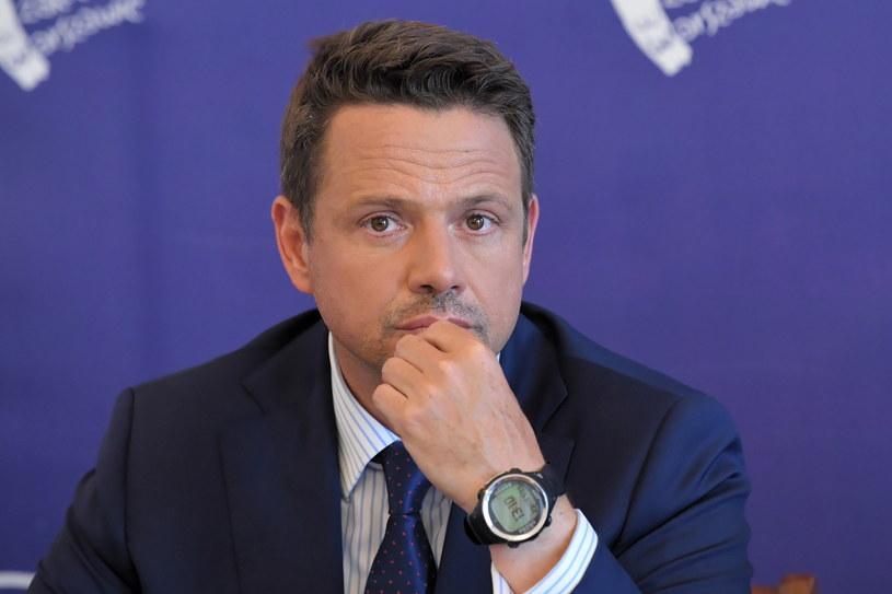 Prezydent Warszawy Rafał Trzaskowski /Radosław Pietruszka /PAP