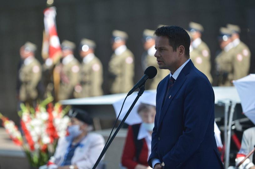 Prezydent Warszawy Rafał Trzaskowski / Marcin Obara  /PAP