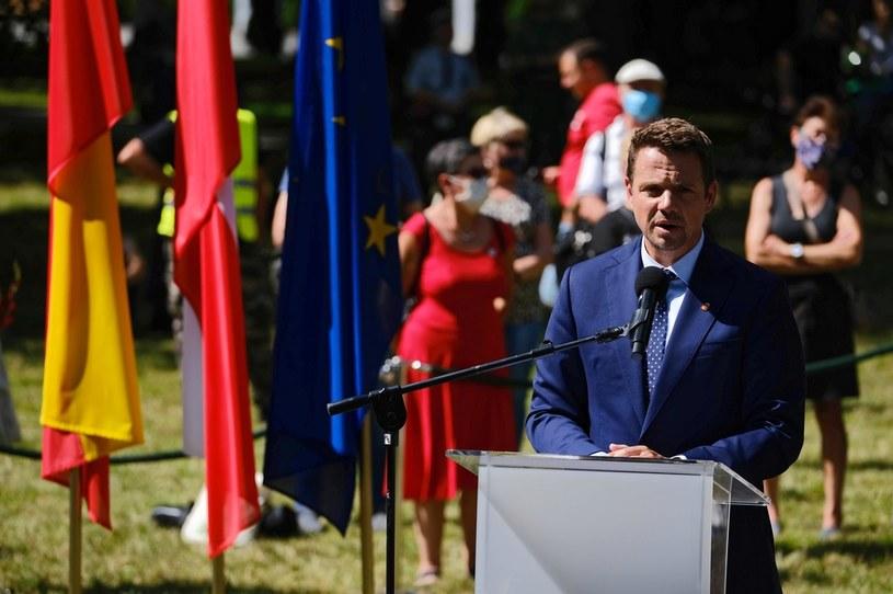 Prezydent Warszawy Rafał Trzaskowski /PAP