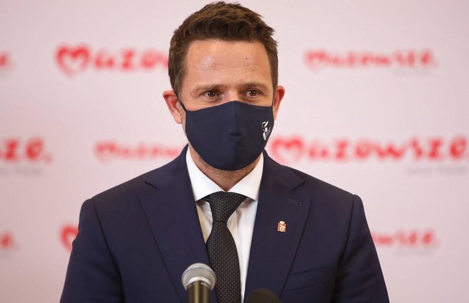 Prezydent Warszawy Rafał Trzaskowski / Leszek Szymański    /PAP
