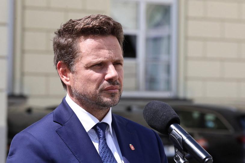 Prezydent Warszawy Rafał Trzaskowski /Tomasz Gzell /PAP