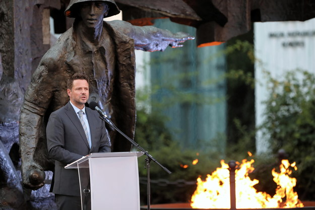 Prezydent Warszawy Rafał Trzaskowski /Wojciech Olkuśnik /PAP