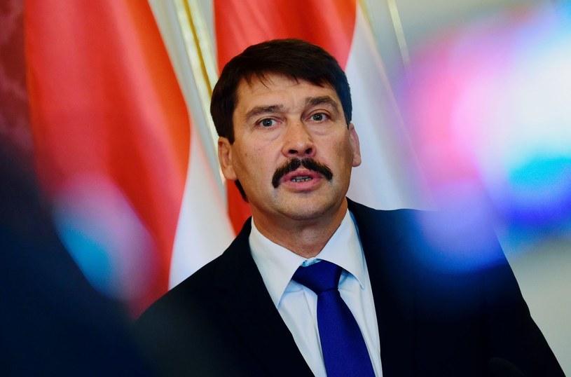prezydent Węgier Janos Ader /Attila Kisbenedek /AFP