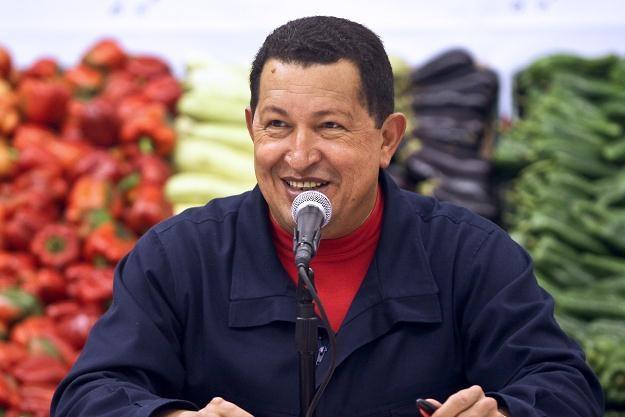 Prezydent Wenezueli Hugo Chavez /AFP
