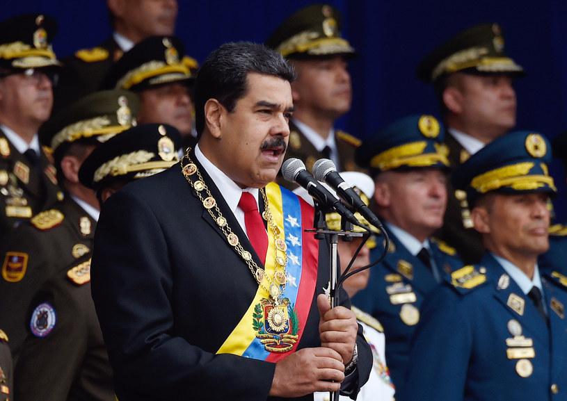 Prezydent Wenezueli Nicholas Maduro /JUAN BARRETO /AFP