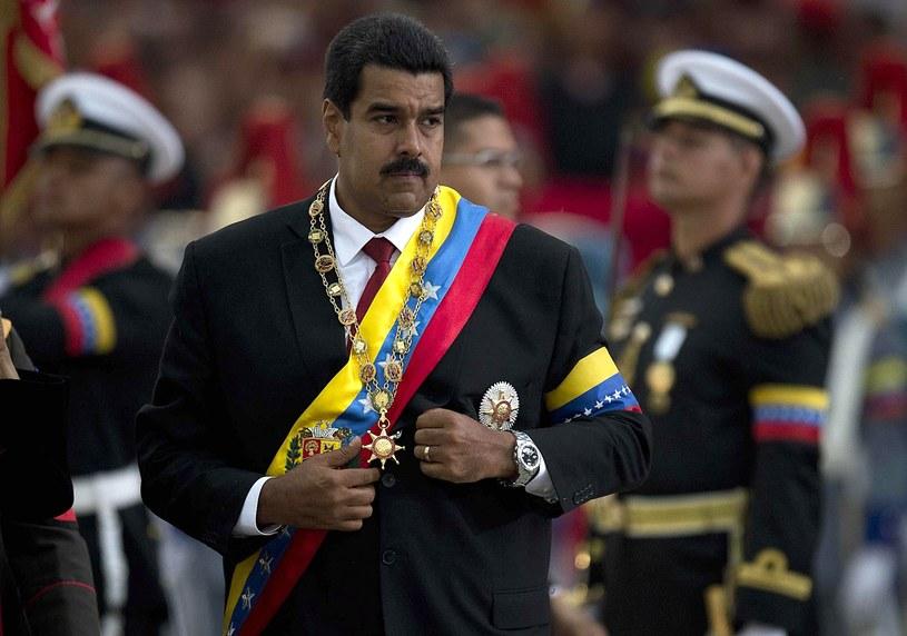 Prezydent Wenezueli Nicolas Maduro /AFP