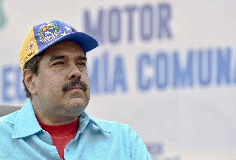 Prezydent Wenezueli Nicolas Maduro /JUAN BARRETO /AFP