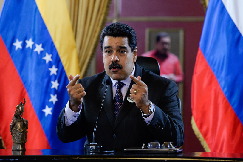 Prezydent Wenezueli Nicolas Maduro /Federico Parra /AFP