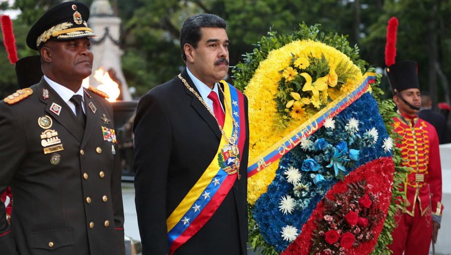 Prezydent Wenezueli Nicolas Maduro /MIRAFLORES PRESS/HANDOUT /PAP/EPA