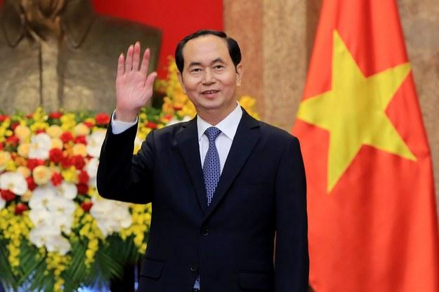 Prezydent Wietnamu Tran Dai Quang /MINH HOANG / POOL /PAP/EPA