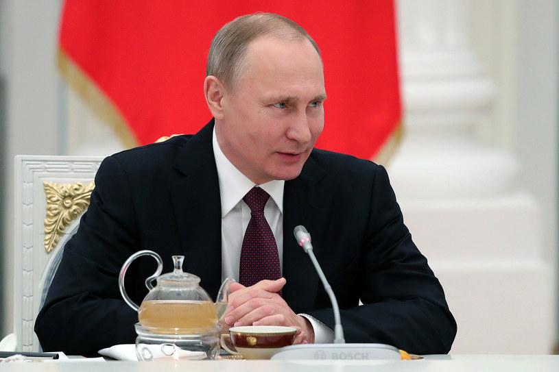 Prezydent Władimir Putin /MICHAEL KLIMENTYEV / SPUTNIK /AFP