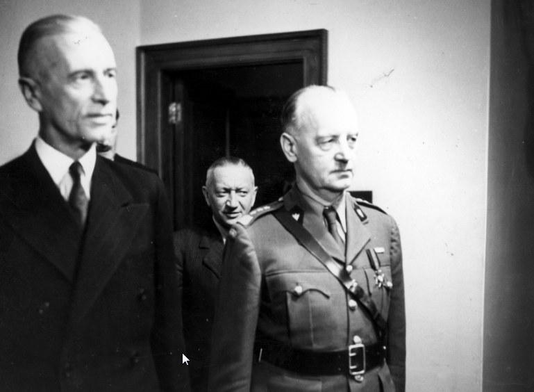 Prezydent Władysław Raczkiewicz i generał Władysław Sikorski. Zdjęcie z czerwca 1941 roku /Z archiwum Narodowego Archiwum Cyfrowego