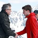 Prezydent wręczył na Kasprowym Wierchu odznaczenia sportowcom i ludziom gór