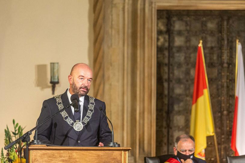 Prezydent Wrocławia Jacek Sutryk /Krzysztof Kaniewski /Reporter
