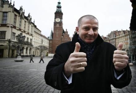 Prezydent Wrocławia Rafał Dutkiewicz/ fot. MACIEJ KULCZYNSKI /Agencja SE/East News