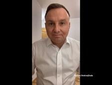 Prezydent zakażony koronawirusem. Nagrał apel do Polaków