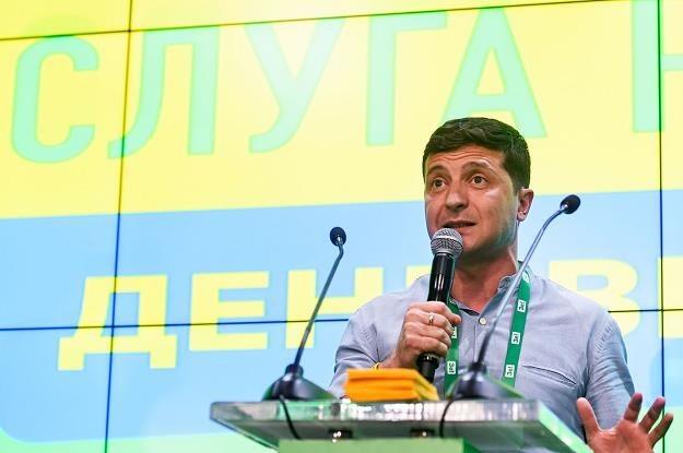 Prezydent Zełenski musi się zdecydować, czy chce być sługą narodu? /AFP