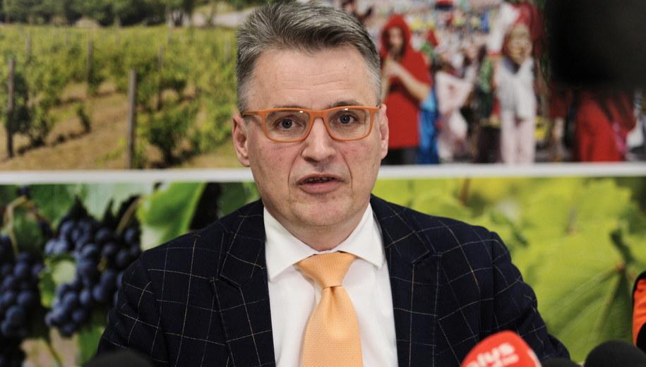 Prezydent Zielonej Góry Janusz Kubicki / Lech Muszyński    /PAP