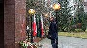 Prezydent złożył wieniec pod tablicą na budynku KGHM