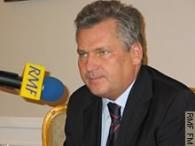 Prezydenta Kwaśniewskiego próbowano połączyć z Ałganowem /arch. RMF