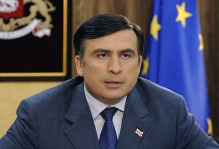 Prezydenta Saakaszwilego nie dziwi mobilizacja opozycji /AFP