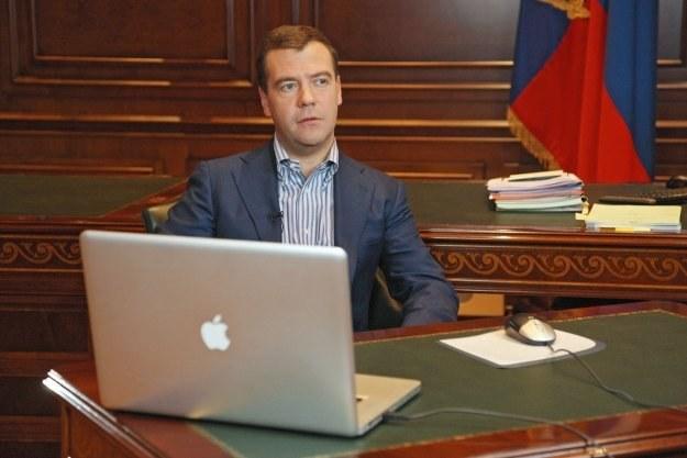 Prezydentowi Miedwiediewowi bardzo zależy na innowacyjności rosyjskiej gospodarki /AFP