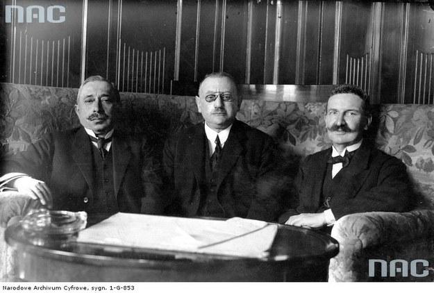 Prezydium Izby Przemysłowo-Handlowej w Krakowie, 1925 /Z archiwum Narodowego Archiwum Cyfrowego