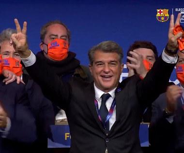 Primera Division. Laporta: Ta wielka rodzina zwana Barceloną z pewnością pokona trudności. Wideo