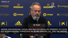 Primera Division. Trener Alvaro Cervera: Cala powiedział mi, że nie go nie obraził. Wideo