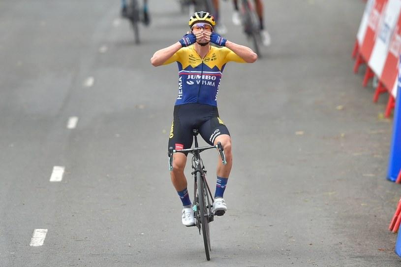 Primoż Roglicz triumfuje /AFP