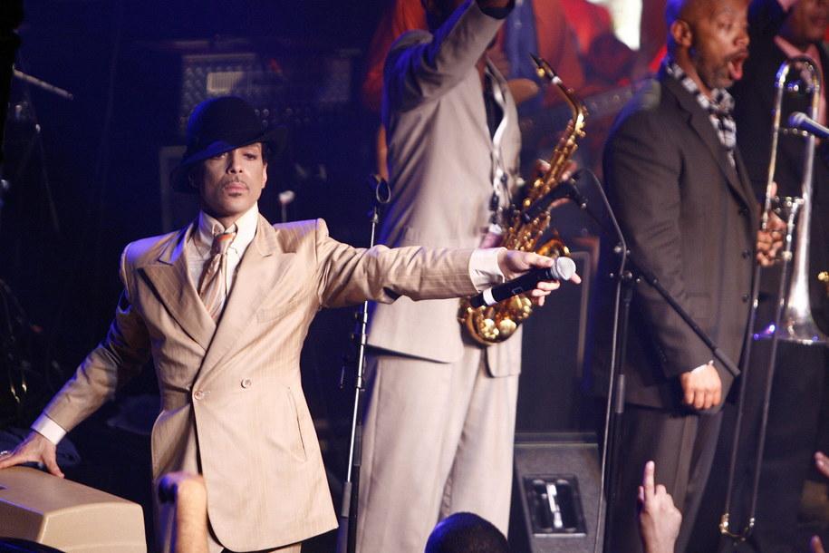 Prince na zdjęciu z 2007 r. /PAP/EPA/LAURENT GILLIERON /PAP/EPA