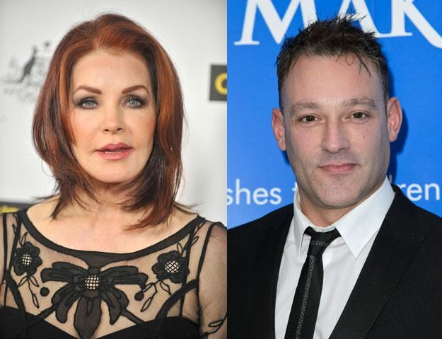 "Priscilla Presley (fot. Toby Canham) i Toby Anstis (fot. Ben Pruchnie): ""Zaiskrzyło"" /Getty Images/Flash Press Media"