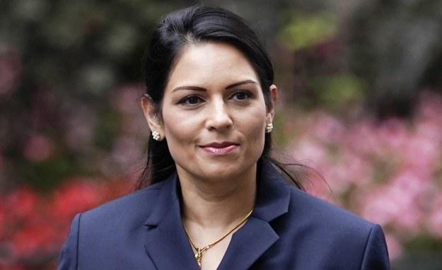 Priti Patel /WILL OLIVER  /PAP/EPA