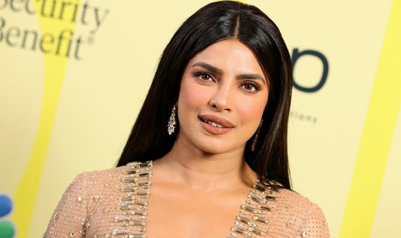 Priyanka Chopra w kampanii marki Max Factor /Rich Fury/Getty AFP /East News