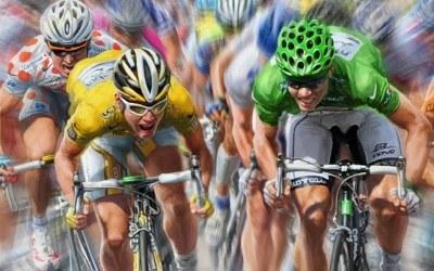 Pro Cycling Manager 2010 - fragment okładki z gry /Informacja prasowa