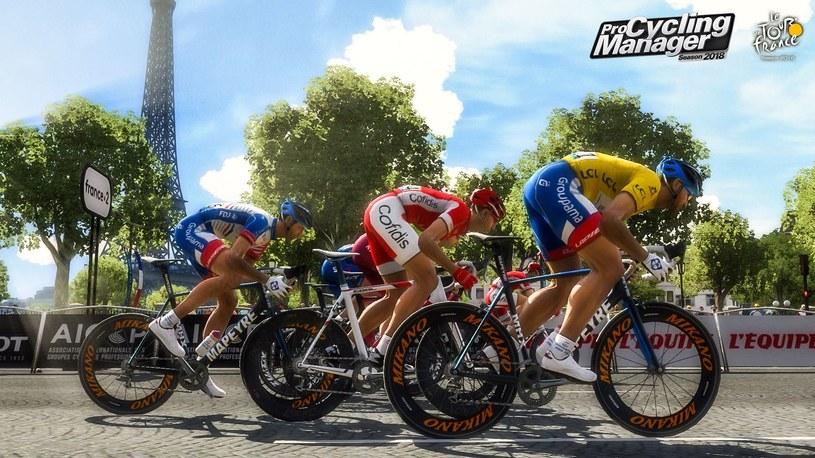 Pro Cycling Manager 2018 /materiały prasowe