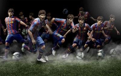 Pro Evolution Soccer 2011 - motyw graficzny /Informacja prasowa