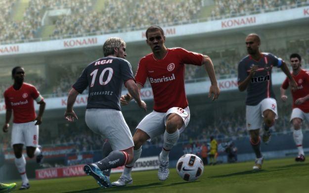 Pro Evolution Soccer 2012 - motyw graficzny /Informacja prasowa