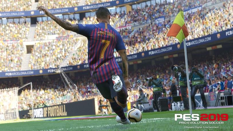 Pro Evolution Soccer 2019 /materiały prasowe