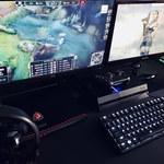 Pro-Gamer D5000 LED - biurko do zadań specjalnych