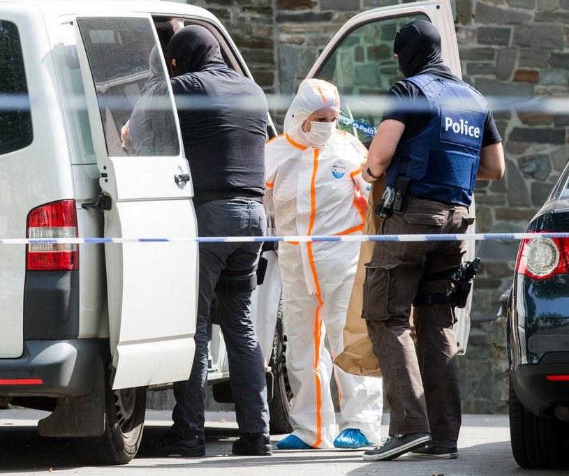 Próba ataku terrorystycznego w Belgii. Zamachowiec został zabity /STEPHANIE LECOCQ  /PAP/EPA