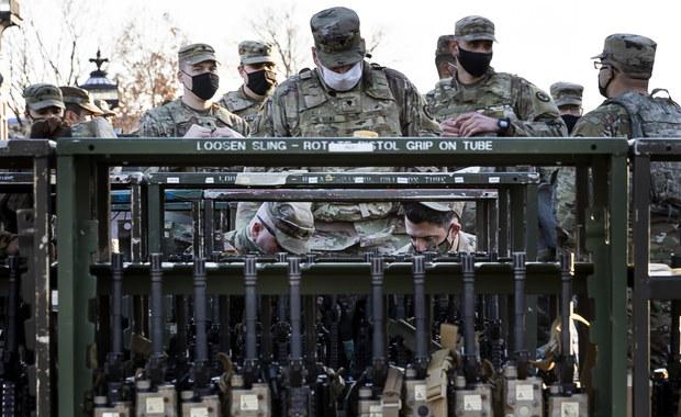 Próba inauguracji prezydentury Bidena przełożona. Do Waszyngtonu zjeżdża coraz więcej żołnierzy Gwardii Narodowej