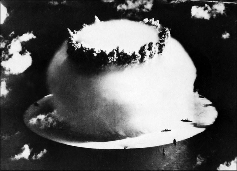 Próba nuklearna w 1946 roku /AFP