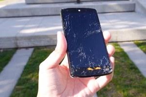 Próba wytrzymałości Nexusa 5