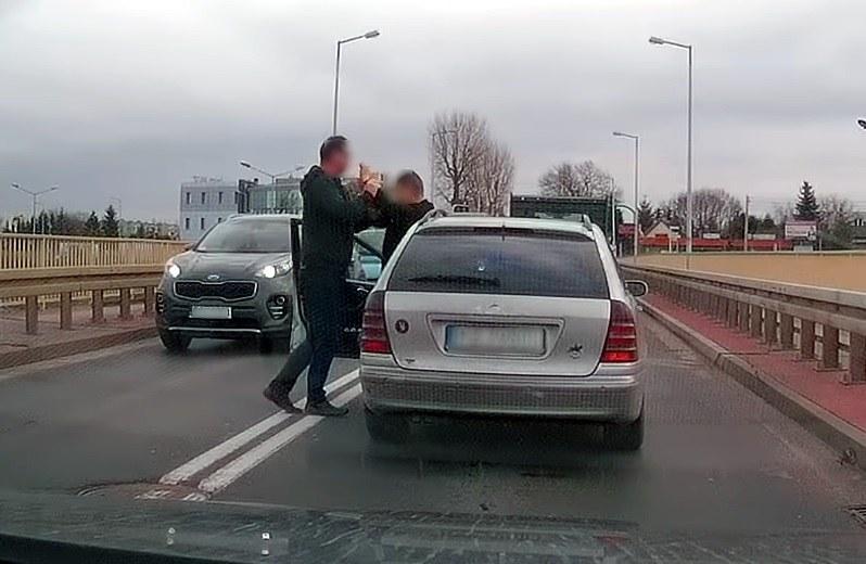 Próba zatrzymania uciekającego kierowcy /